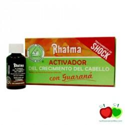 Activador del crecimiento del cabello con guaraná Rhatma