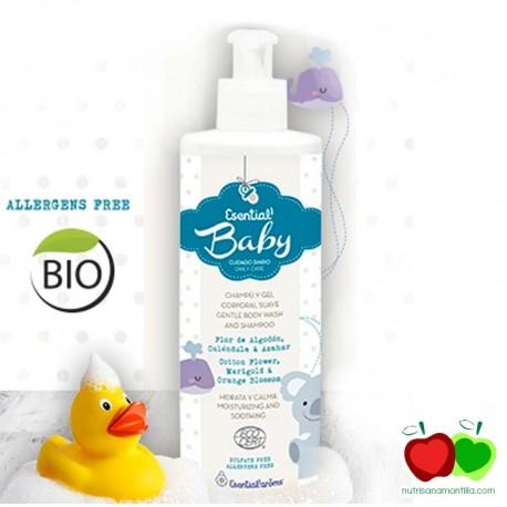 Leche corporal bebé ecológica Esential aroms
