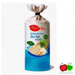 Tortitas de arroz ecologicas sin sal El Granero Integral