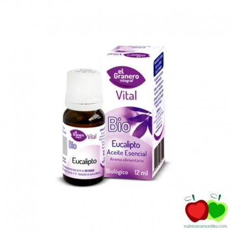 Aceite esencial de eucalipto BIO El Granero Integral