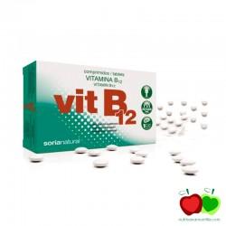 Vitamina B12 en comprimidos Soria Natural