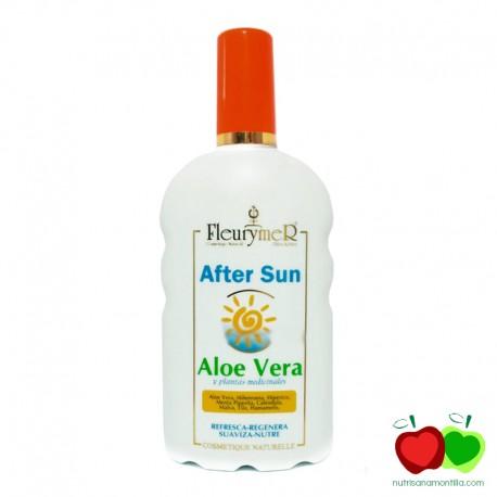 After sun de aloe vera y plantas medicinales Fleurymer