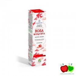 Aceite vegetal virgen de rosa mosqueta de Chile ecológico Esential Aroms