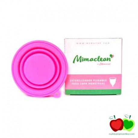 Esterilizador copa menstrual plegable Mimaclean