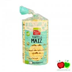 Tortitas de maíz BIO La Finetra sul Cielo