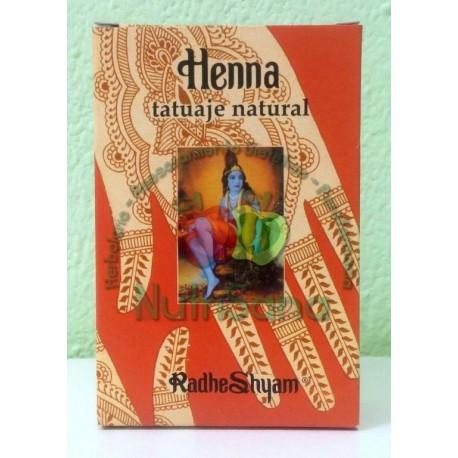 Henna tatuaje natural Radhe Shyam