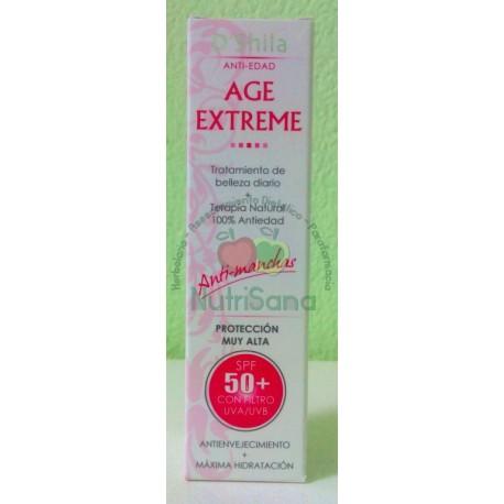 Crema facial antiedad Age Extreme SPF 50+ D'Shila