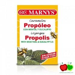 Caramelos de propóleo con mentol y eucalipto Marnys