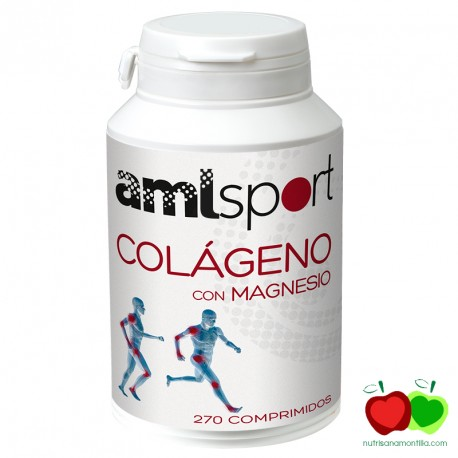 Colágeno con magnesio Ana María Lajusticia AML Sport
