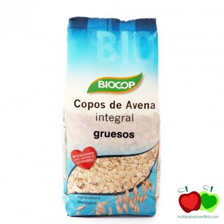 Copos de avena integral gruesos Biocop